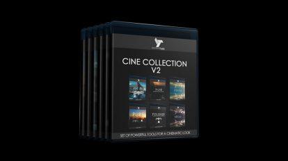 مجموعه پریست رنگ LUT سینمایی Spectrum Grades Complete Cine