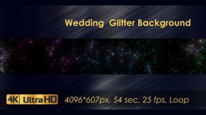 ویدیوی موشن گرافیک زرق و برق برای ویدیوی عروسی Wedding Glitter