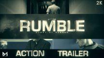 پروژه افترافکت تریلر سینمایی اکشن Action Trailer