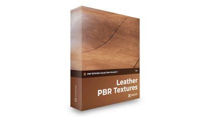 مجموعه تکسچر واقعگرایانه چرم CGAxis PBR Textures Volume 11 Leather