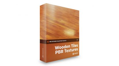 مجموعه تکسچر واقعگرایانه کاشی چوبی CGAxis PBR Textures Volume 4 Wooden Tiles