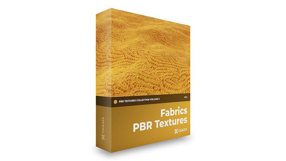 مجموعه تکسچر واقعگرایانه پارچه CGAxis PBR Textures Volume 5 Fabrics