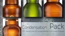 مجموعه تکسچر تراکم قطرات آب CGI Condensation Pack