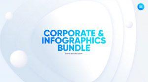 پروژه افترافکت باندل اینفوگرافیک شرکتی Corporate Infographics Bundle