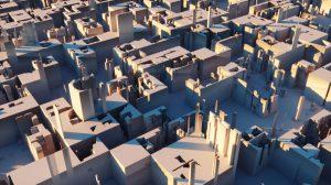 آموزش ساخت متریال Displacement در پلاگین اکتان رندر برای سینمافوردی