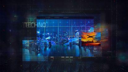 پروژه افترافکت تیزر تبلیغاتی شرکتی Digital Corporate Promo