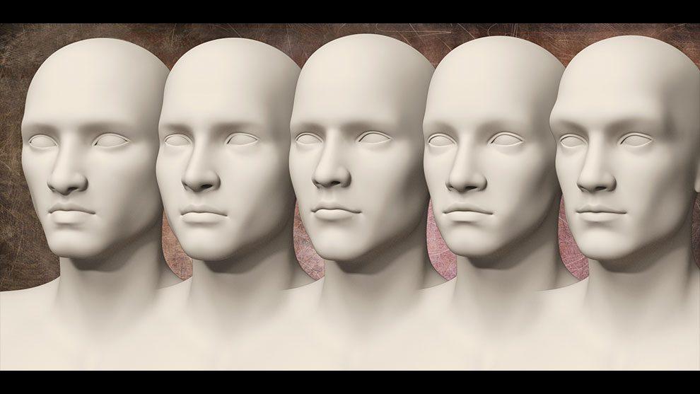 مجموعه پریست بدن و صورت Distinctive HD Faces and Bodies