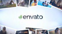 پروژه افترافکت نمایش لوگو در میان عکس ها Elegant Photo Logo