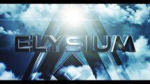 پروژه افترافکت تریلر سینمایی Elysium Cinematic Trailer