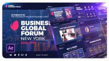 پروژه افترافکت پرزنتیشن شرکتی Event Promo Business Presentation