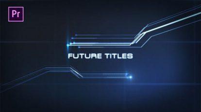 پروژه پریمیر عناوین تیتراژ سینمایی Future Titles