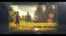 پروژه افترافکت اسلایدشو سینمایی Happy Moments Cinematic Slideshow