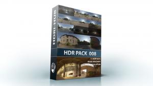 مجموعه تصاویر محیط محوطه HDRI Hub HDR Pack 008