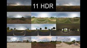 مجموعه تصاویر محیط جاده و علفزار HDRI Hub HDR Pack 009