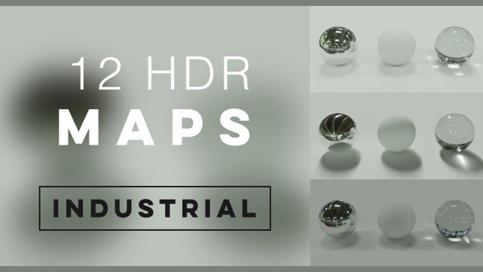 مجموعه تصاویر محیط صنعتی Industrial HDRI Set
