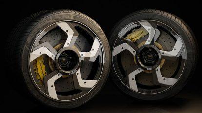 مدل سه بعدی تایر چرخ ماشین Lambo Car Wheel