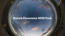 مجموعه تصاویر پارنوراما محیط طبیعی Nature HDRI Panorama Pack
