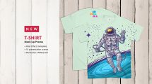 پروژه افترافکت موکاپ تیشرت T-Shirt Mockup