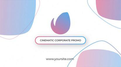 پروژه افترافکت تیزر تبلیغاتی شرکتی Cinematic Corporate Promo