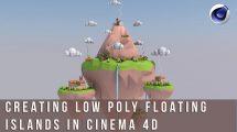 دوره آموزشی طراحی جزایر سه بعدی به سبک Low Poly در سینمافوردی