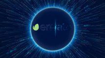 پروژه افترافکت نمایش لوگو داده های دیجیتالی Digital Data World Logo Reveal