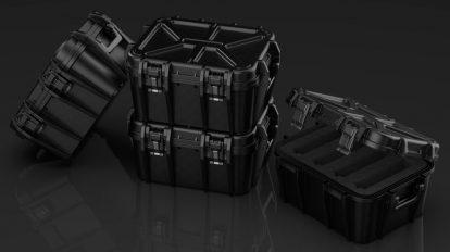 مدل سه بعدی چمدان صنعتی EDON-TECH Hard Case