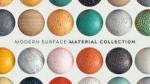 مجموعه متریال سطوح مدرن Modern Surface Material Collection