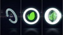 پروژه افترافکت نمایش لوگو با انفجار درخشان Midnight Glow Logo Reveal