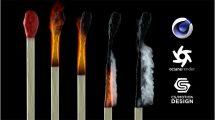 دوره آموزشی مدلسازی و سوزاندن چوب کبریت در سینمافوردی