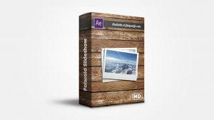 پروژه افترافکت اسلایدشو عکس Polaroid Slideshow