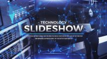 پروژه افترافکت اسلایدشو با موضوع تکنولوژی Technology Slideshow