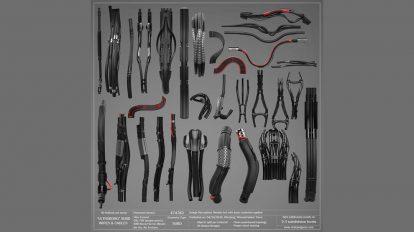 مجموعه مدل سه بعدی سیم و کابل Ultraborg Wires Cables Pack