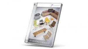 مجموعه مدل سه بعدی مبل و صندلی 3D Seating Furniture