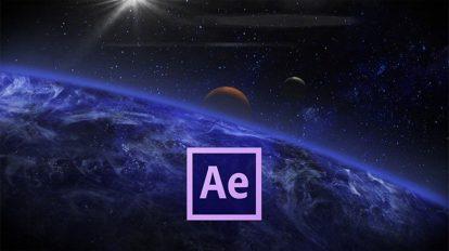 دوره آموزشی ساخت موشن گرافیک صحنه فضایی در افترافکت