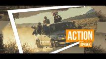 پروژه افترافکت افتتاحیه اکشن Artistic Action Opener