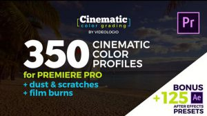 پروژه پریمیر مجموعه افکت های سینمایی Cinematic Color Presets