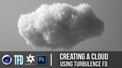 دوره آموزشی ساخت ابر با TurbulenceFD در سینمافوردی و اکتان رندر