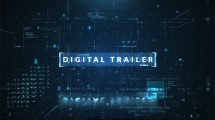 پروژه افترافکت تریلر سینمایی Digital Trailer