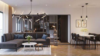 صحنه آماده سه بعدی محیط داخلی خانه Full House Design 3