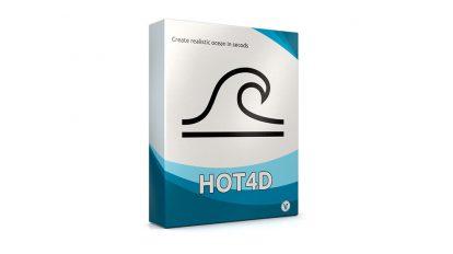 پلاگین سینمافوردی Hot4D ابزار شبیه سازی اقیانوس