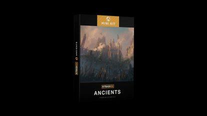 مجموعه مدل سه بعدی بناهای باستانی Kitbash3D Mini Kit Ancients