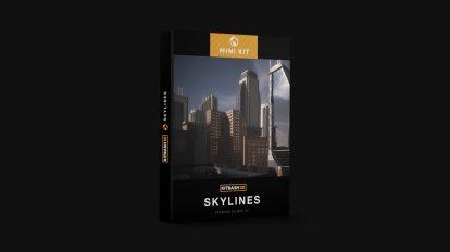 مجموعه مدل سه بعدی ساختمان های شهری Mini Kit Skylines