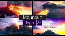 پروژه افترافکت نمایش لوگو روی کوه Mountain Logo