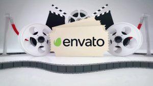پروژه پریمیر نمایش لوگو پخش فیلم Movie Logo Intro