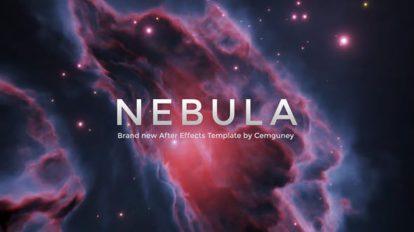 پروژه افترافکت نمایش عناوین در کهکشان Nebula Titles