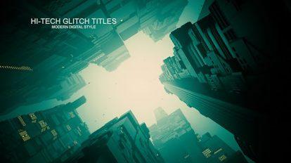 پروژه افترافکت تریلر سینمایی Sci-Fi City Trailer