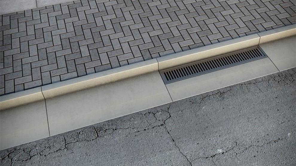 مدل سه بعدی جاده و پیاده رو Sidewalk Road