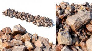 مدل سه بعدی سنگ ساحلی Stone Beach