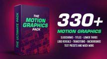 پروژه افترافکت مجموعه موشن گرافیک The Motion Graphic Pack