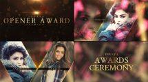 پروژه افترافکت افتتاحیه مراسم جوایز Awards Show Packaging